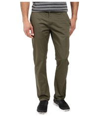 Rvca The Week End Pant Leaf Men's Casual Pants Brown