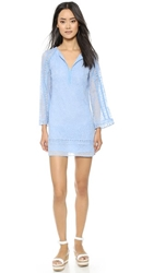 Nanette Lepore Drifter Dress Blue Sky