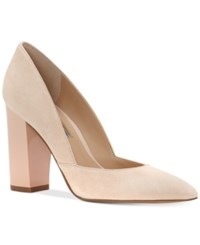 Inc International Concepts Women's Eloraa Block Heel Pumps Only At Macy's Women's Shoes Petal Pink