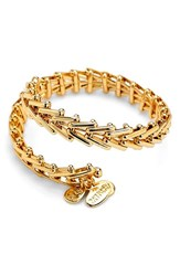 Women's Alex And Ani 'Vintage 66' Chain Wrap Bracelet Gold