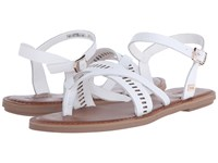 Toms Lexie Sandal White Leather Women's Sandals