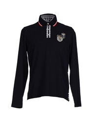 Luis Trenker Polo Shirts Dark Blue