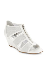 Bandolino Opie Wedge Sandals White