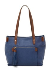 Perlina Paige Tote Blue