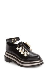 Jeffrey Campbell Women's 'Jagged' Crystal Embellished No Lace Platform Oxford