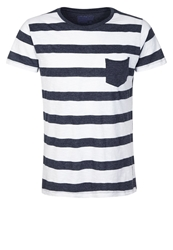 Brunotti Adino Basic Tshirt Navy White Dark Blue