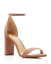 Vince Camuto Mairana Ankle Strap High Heel Sandals Pink