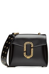 Marc Jacobs Patent Leather Shoulder Bag Black