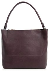 Oasis Honour Double Pocket Hobo Burgundy
