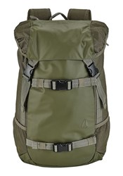 Nixon Olive Landlock Ii Backpack 33 L Khaki