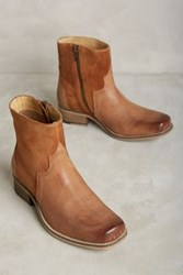 Anthropologie Seychelles Crossing Booties Honey