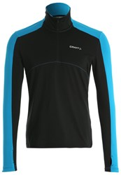 Craft Thermal Long Sleeved Top Black Pacific