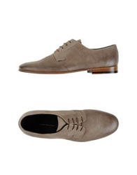 Alessandro Dell'acqua Lace Up Shoes Grey