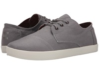 Toms Paseo Frost Grey Herringbone Men's Lace Up Casual Shoes Gray