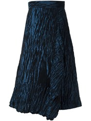 Peter Pilotto Textured Midi Skirt Blue