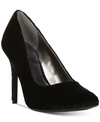Carlos By Carlos Santana Posy Pointed Toe Velvet Pumps Women's Shoes Black