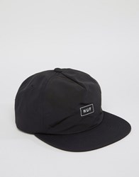 Huf Cap Bar Logo In Japanese Cotton Black