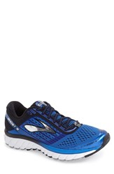 Brooks Men's 'Ghost 9' Running Shoe Electric Blue Black Silver