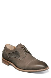 Florsheim Men's 'Frisco' Cap Toe Derby Taupe Nubuck Leather