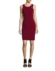 Decode 1.8 Cutout Back Cocktail Dress Red
