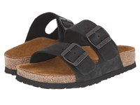 Naot Footwear Santa Barbara Black Nubuck Women's Sandals