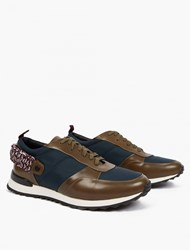 Oamc Panelled Para Cord Sneakers