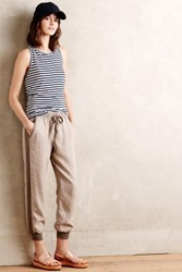 Anthropologie Topsail Joggers Brown