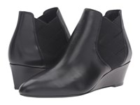 Via Spiga Harlie Black Harvard Calf Leather Women's Boots