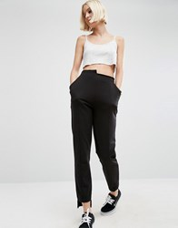 Asos Deconstructed Cigarette Jogger Black