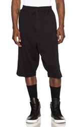 Public School Brina Textured Knit Dall Shorts In Black