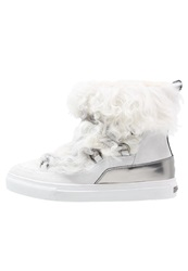 Kennel Schmenger Basket Laceup Boots Bianco White