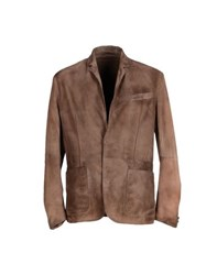 Cross Suits And Jackets Blazers Men Cocoa