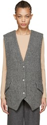 Acne Studios Grey Wool Vest