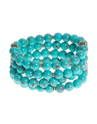 Lonna And Lilly Turquoise Stretch Bracelet