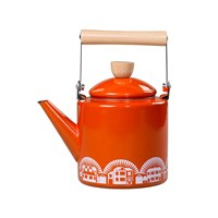 Mini Moderns Enamel Kettle Orange