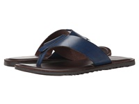 Dune Inka Trail Blue Leather Men's Sandals