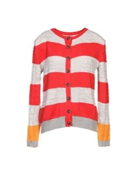 Thakoon Addition Cardigans Red