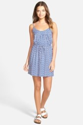 Ace Delivery Print Camisole Dress Blue