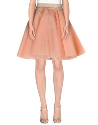 Marcel Ostertag Skirts Knee Length Skirts Women Salmon Pink