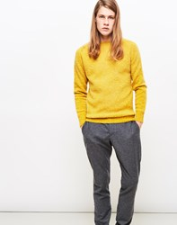 Ymc Suedehead Brushed Knit Jumper Yellow