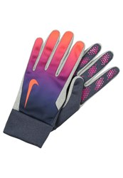 Nike Performance Gloves Obsidian Vivid Purple Dark Blue