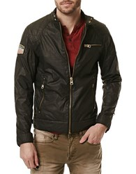 Buffalo David Bitton Jailon Moto Jacket Black