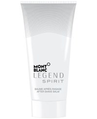 Montblanc Legend Spirit After Shave Balm 5.0 Oz Only At Macy's