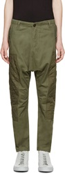 Mostly Heard Rarely Seen Green Harem Regiment Trousers