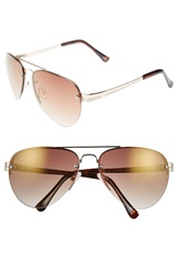 Vince Camuto 62Mm Aviator Sunglasses Gold
