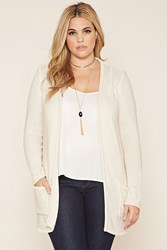 Forever 21 Plus Size Open Knit Cardigan