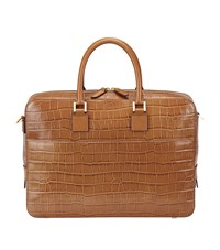 Aspinal Of London Mount Street Tech Small Briefcase Unisex
