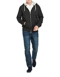 Polo Big And Tall Cotton Blend Fleece Hoodie Black