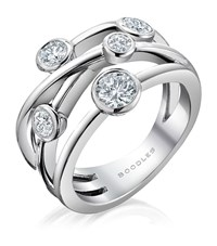 Boodles Raindance Classic Anniversary Ring Female