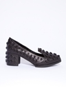 Riot skull studded loafers